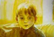 Ukázka akvarelové barvy